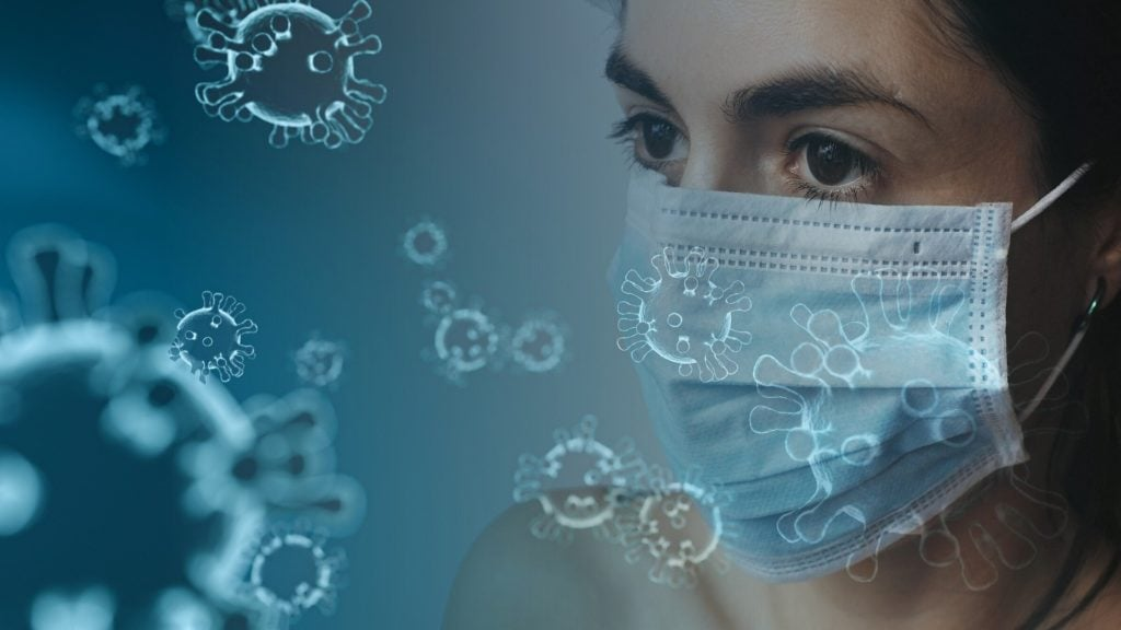 These blue face masks can help the coronavirus high-risk group to protect a weakened immune system against the virus