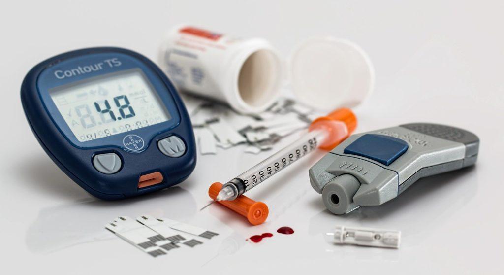 Diabetes Typ 1 und 2 sind unterschiedliche Krankheiten, die mit Insulin behandelt werden