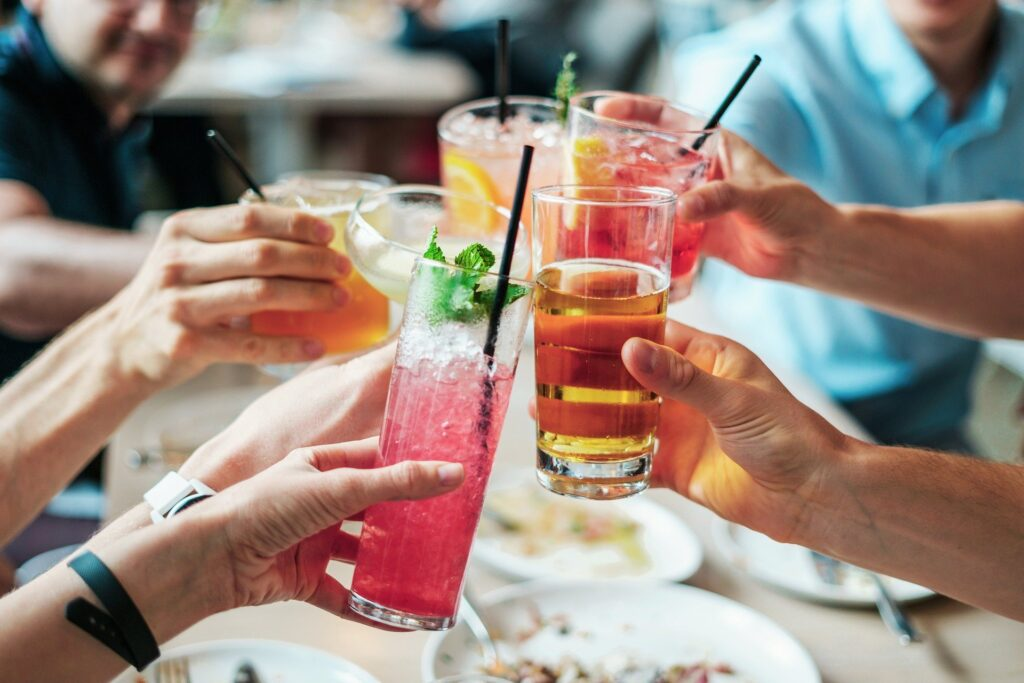 Even alcohol is a better idea than diet soda on keto