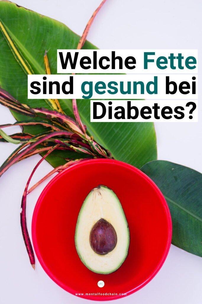 Gesunde Fette bei Diabetes, die Insulinsensitivität steigern