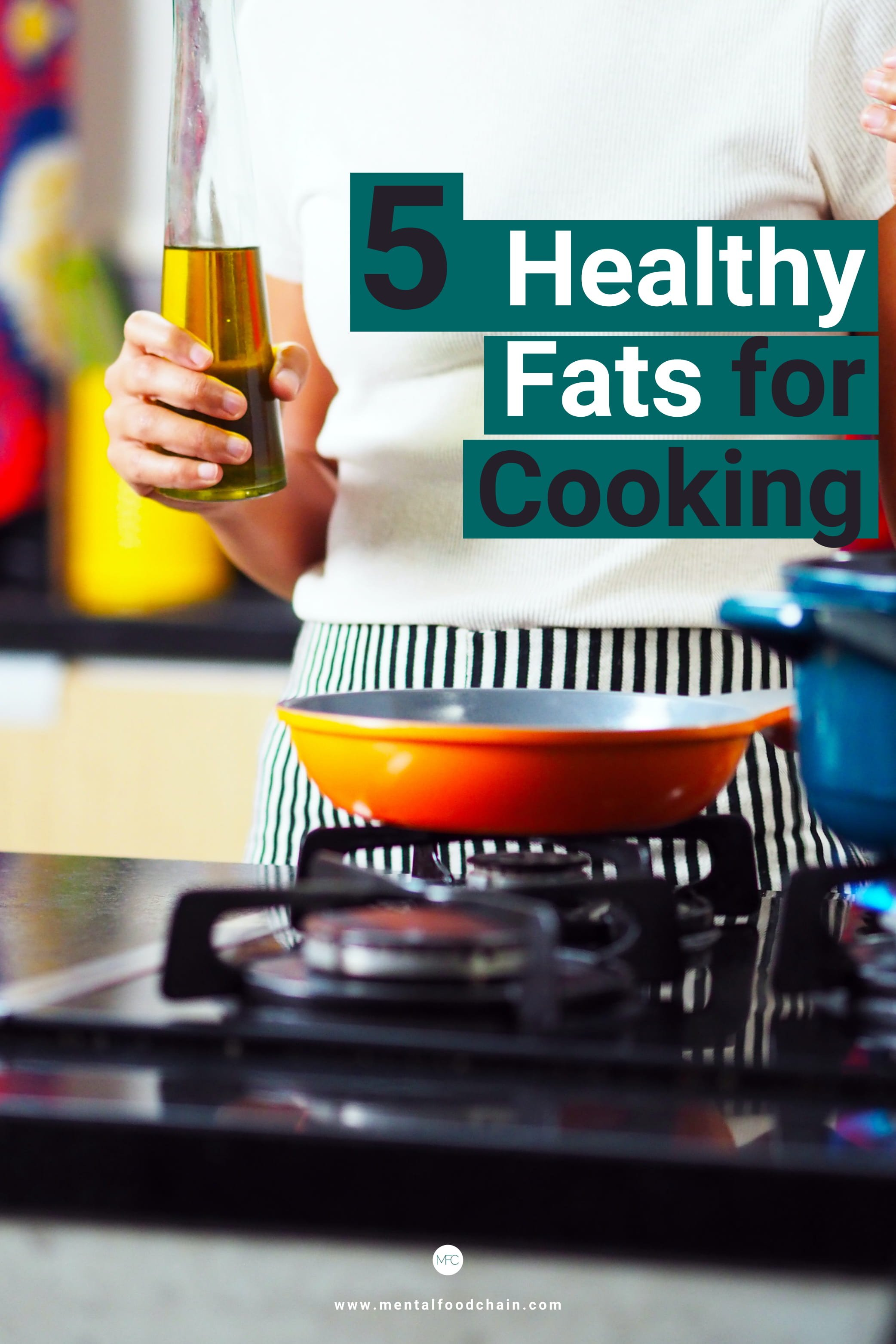 Healthy fats for cooking and frying based on science