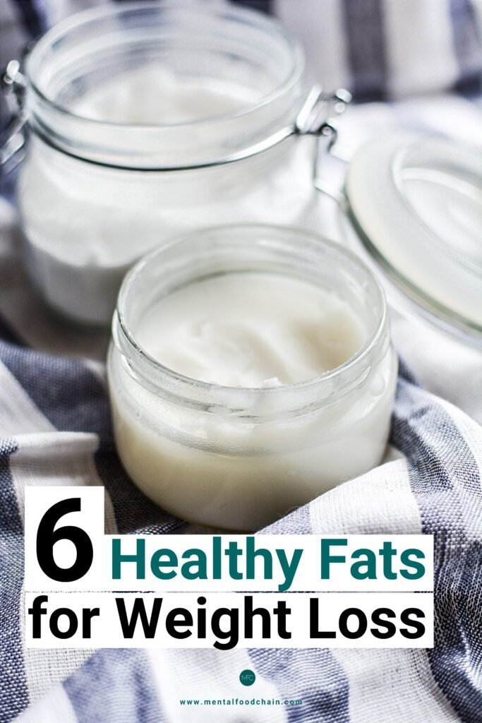 6 healthy fats for weight loss – coconut oil