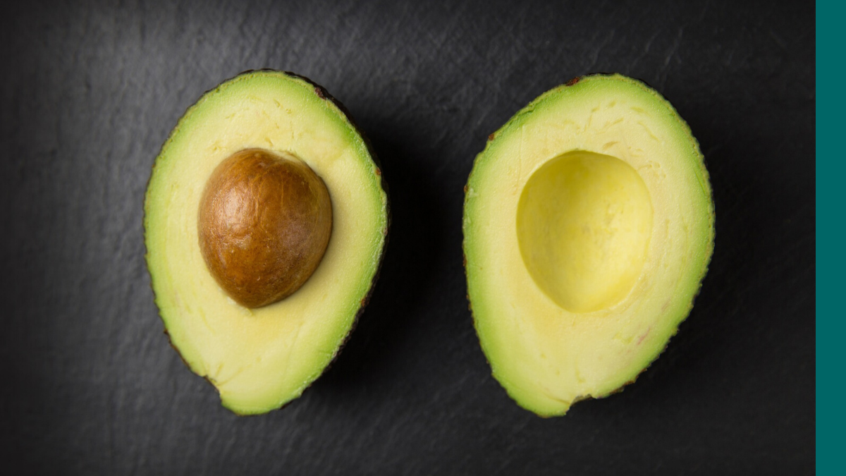 Avocados are foods with healthy fats