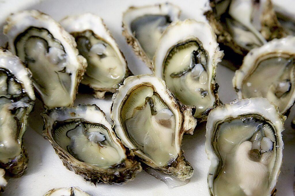 Austern können den Tagesbedarf an Kupfer und Zink decken