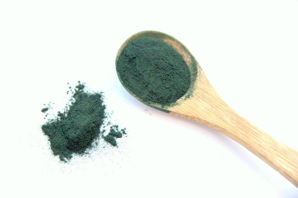 Die Spirulina Alge gehört zu den Lebensmitteln mit Kollagen