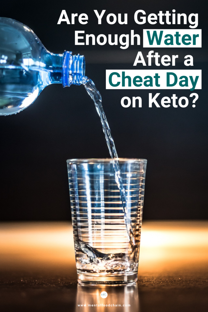 Are you getting enough water after a cheat day on keto?