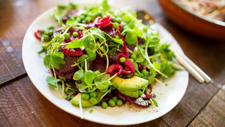 Avocados and beetroots are foods high in potassium