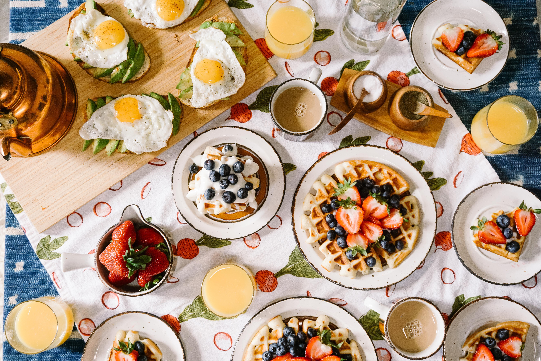 breakfast means to break a fast