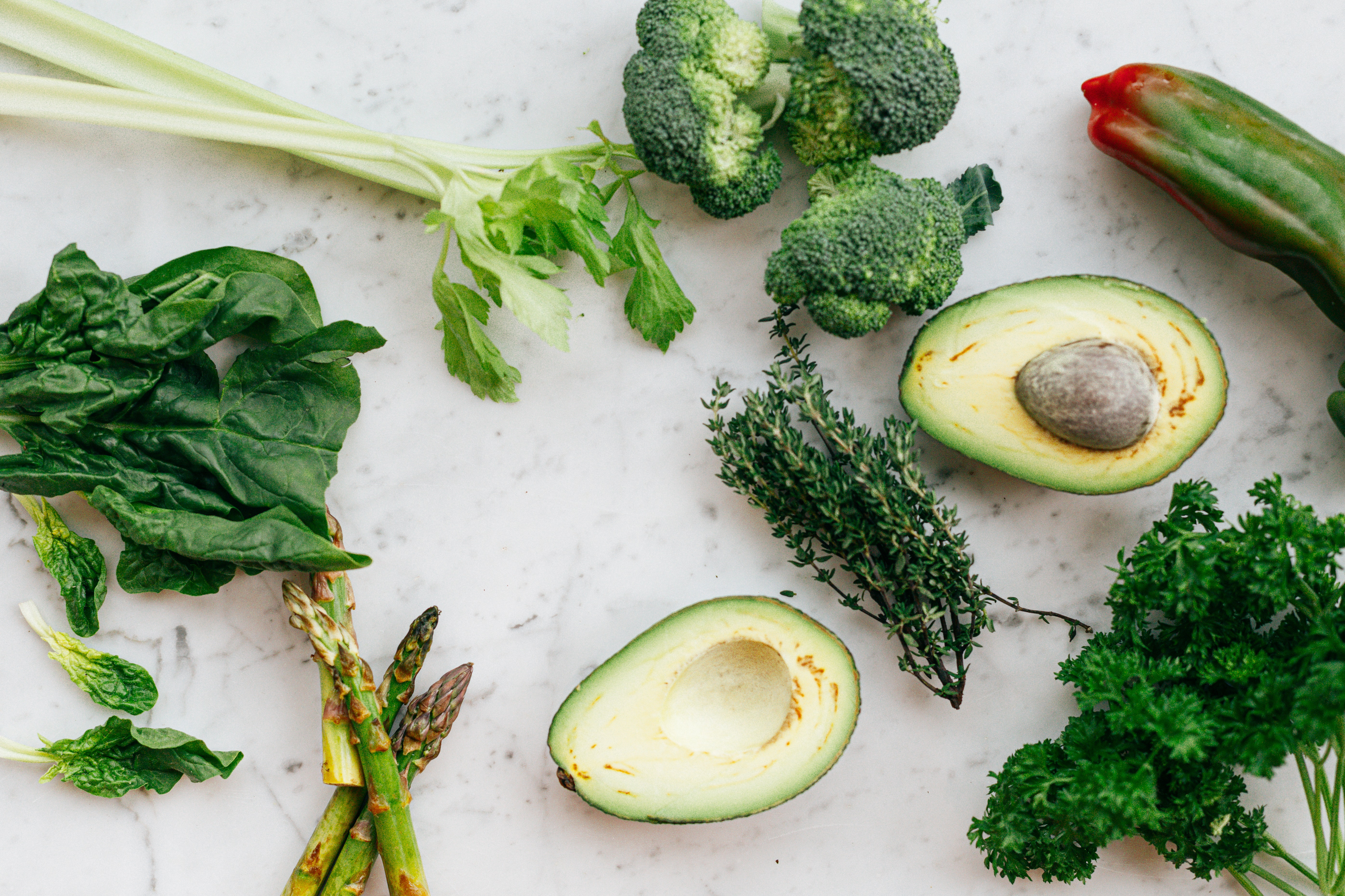 boil green vegetables when breaking a prolonged fast