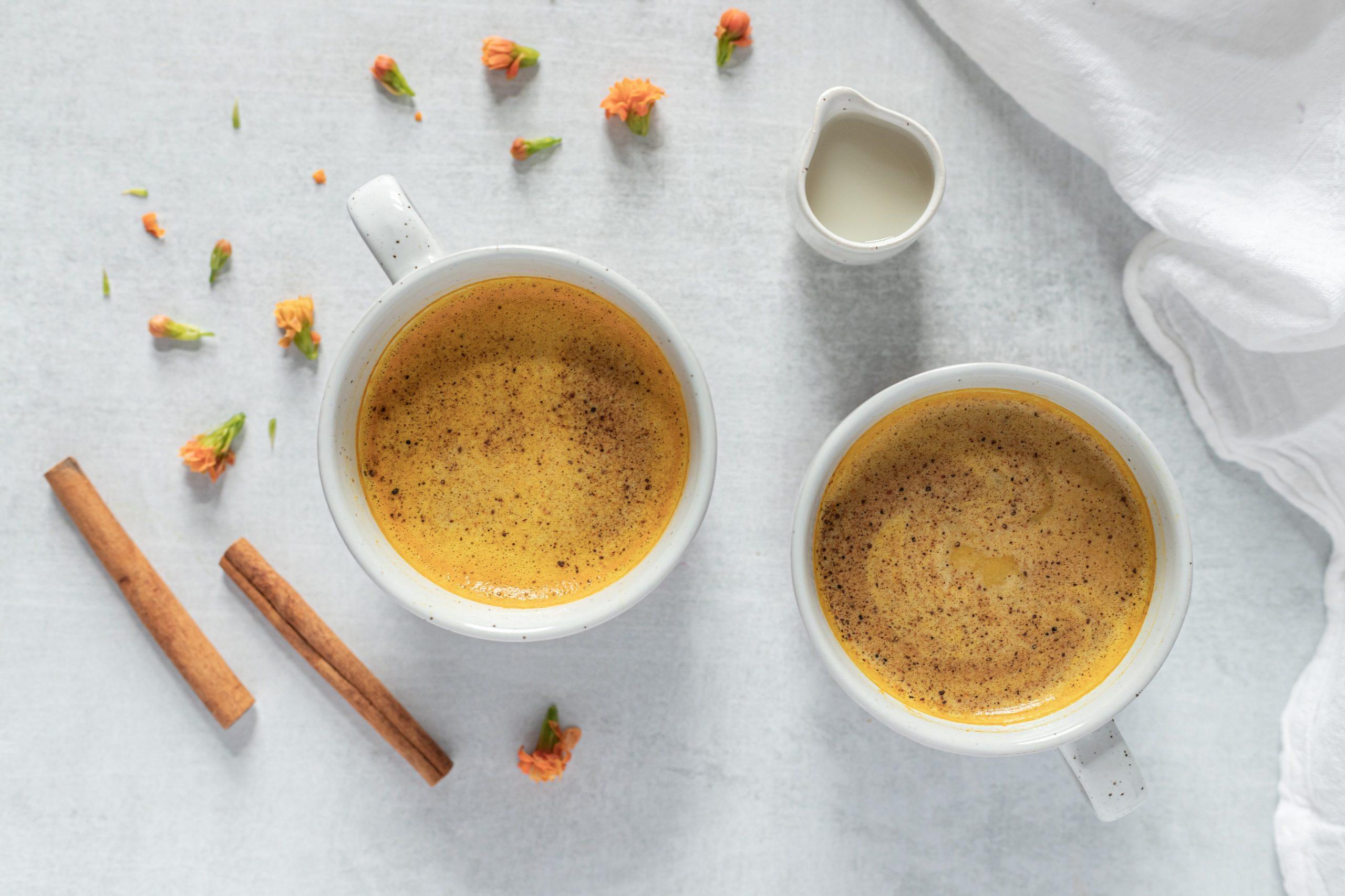 Goldene Milch kann antivirale Wirkung entfalten