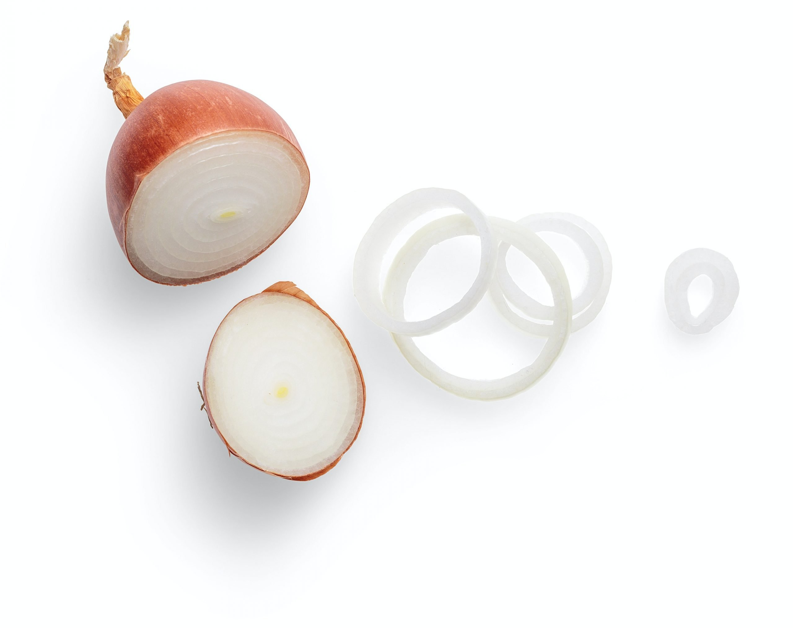 Gelbe Zwiebel ist aufgrund von Quercetin gesund