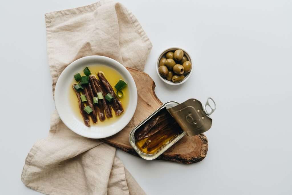 anchovies represent foods with omega-3 fatty acids