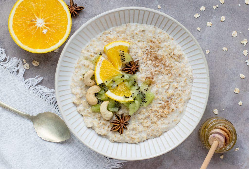 Dietary fiber increases the volume of stool