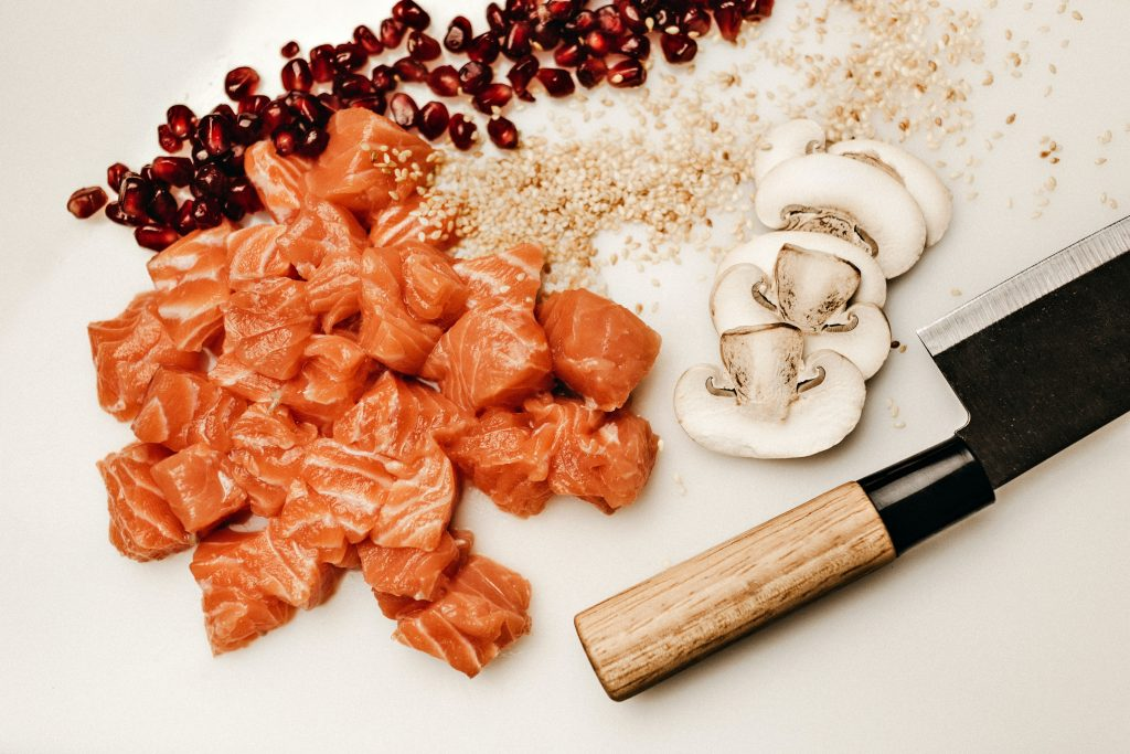raw foods with omega-3 fatty acids should be prepared freshly