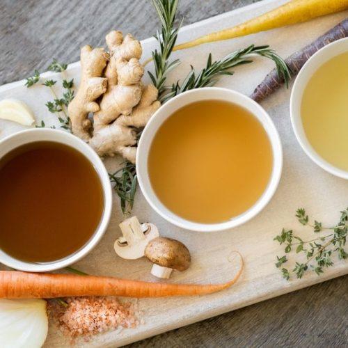 Knochenbrühe selber machen - Rezept