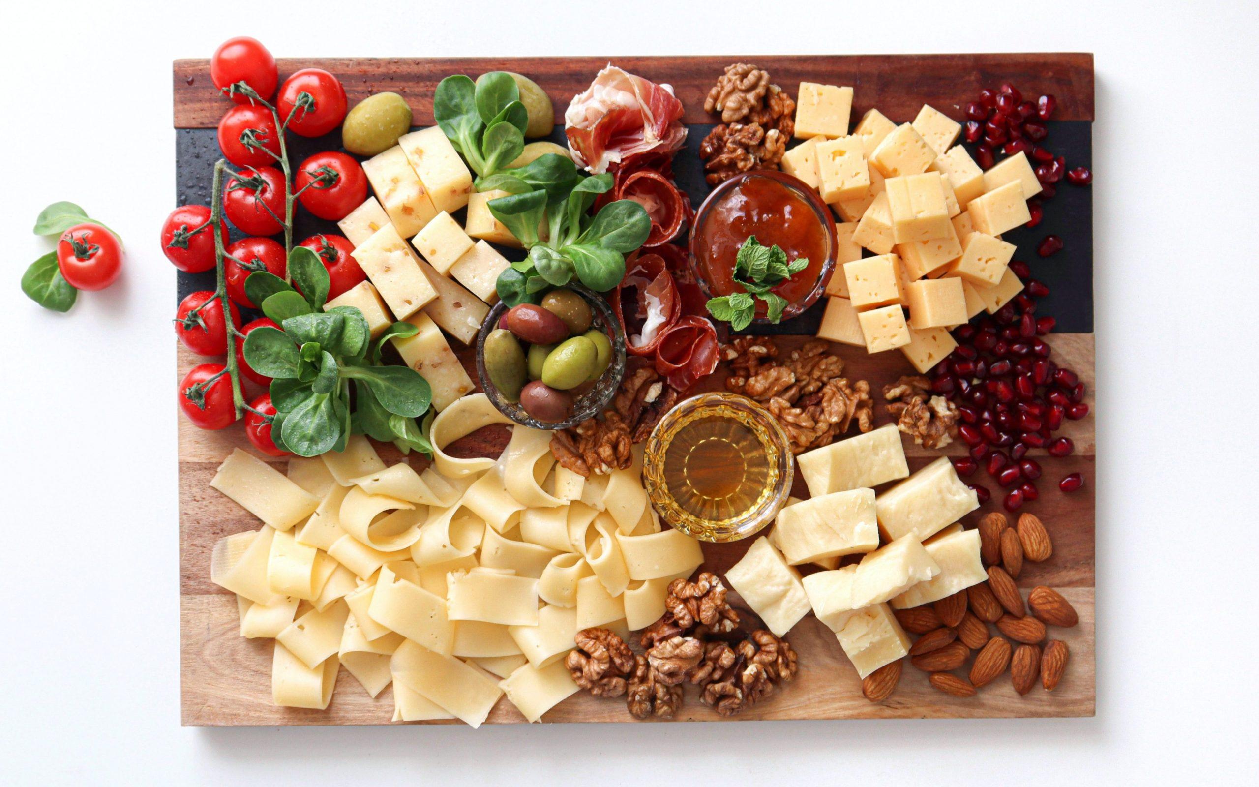 Vollfetter Käse ist ein zero-carb Keto-Snack