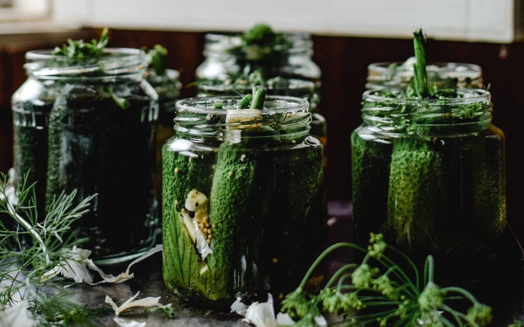 Pickles are probiotic keto snacks