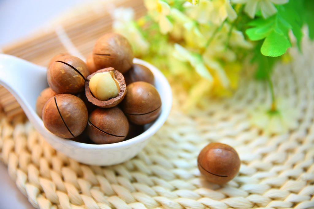 Macadamia-Nüsse sind besonders Keto-freundlich