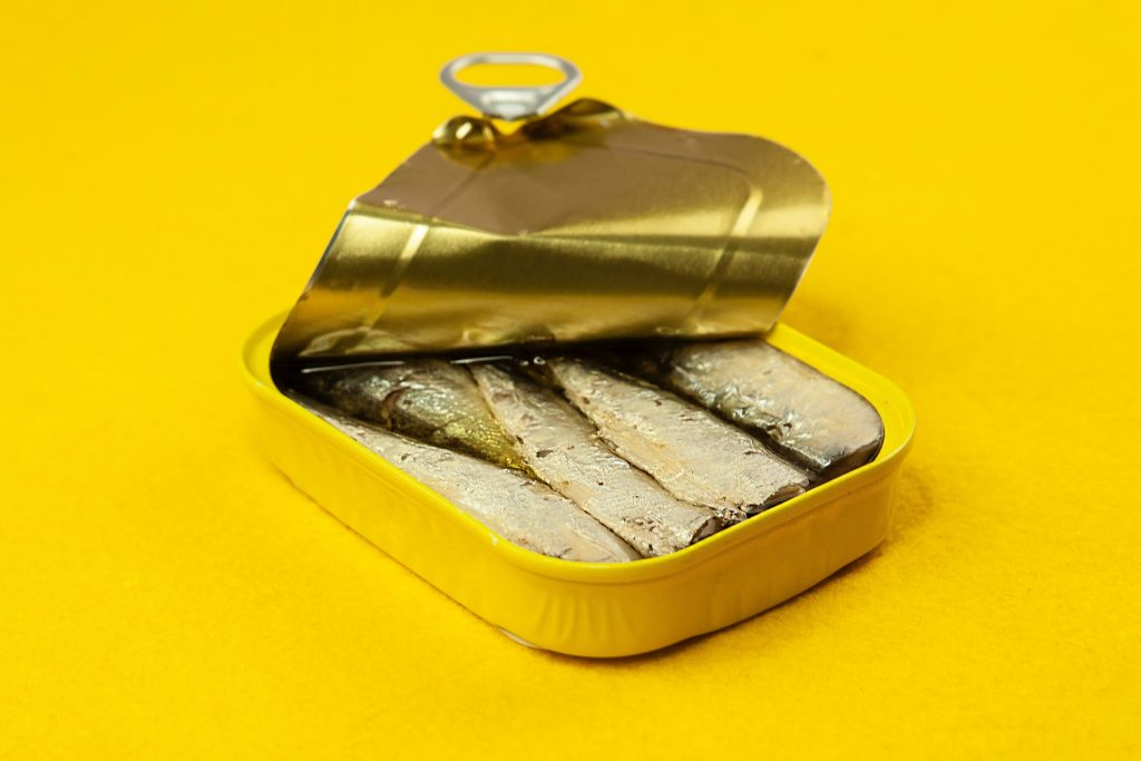 Sardinen sind ein Keto-freundlicher Snack
