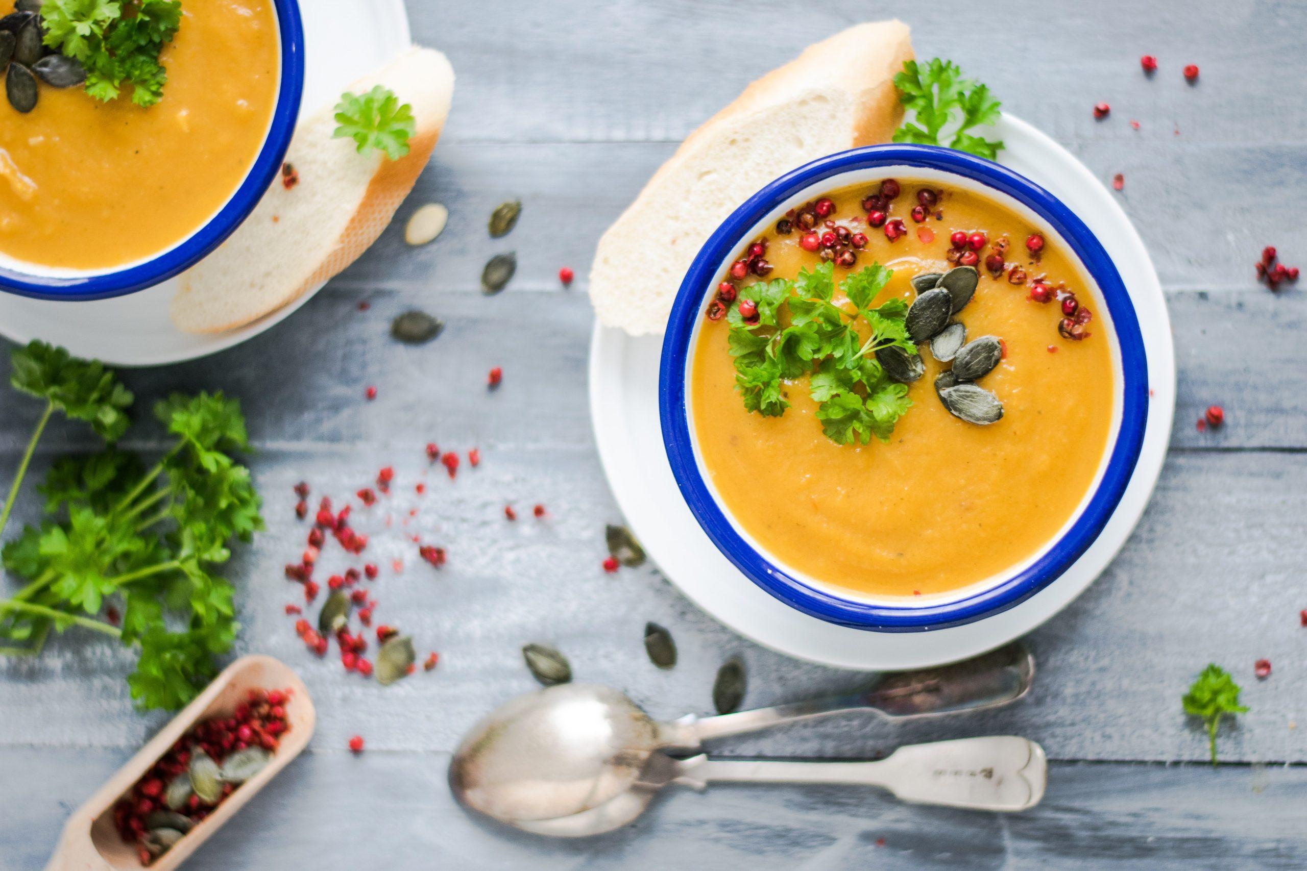 Xanthan ist ein Dickungsmittel das für Suppen verwendet wird