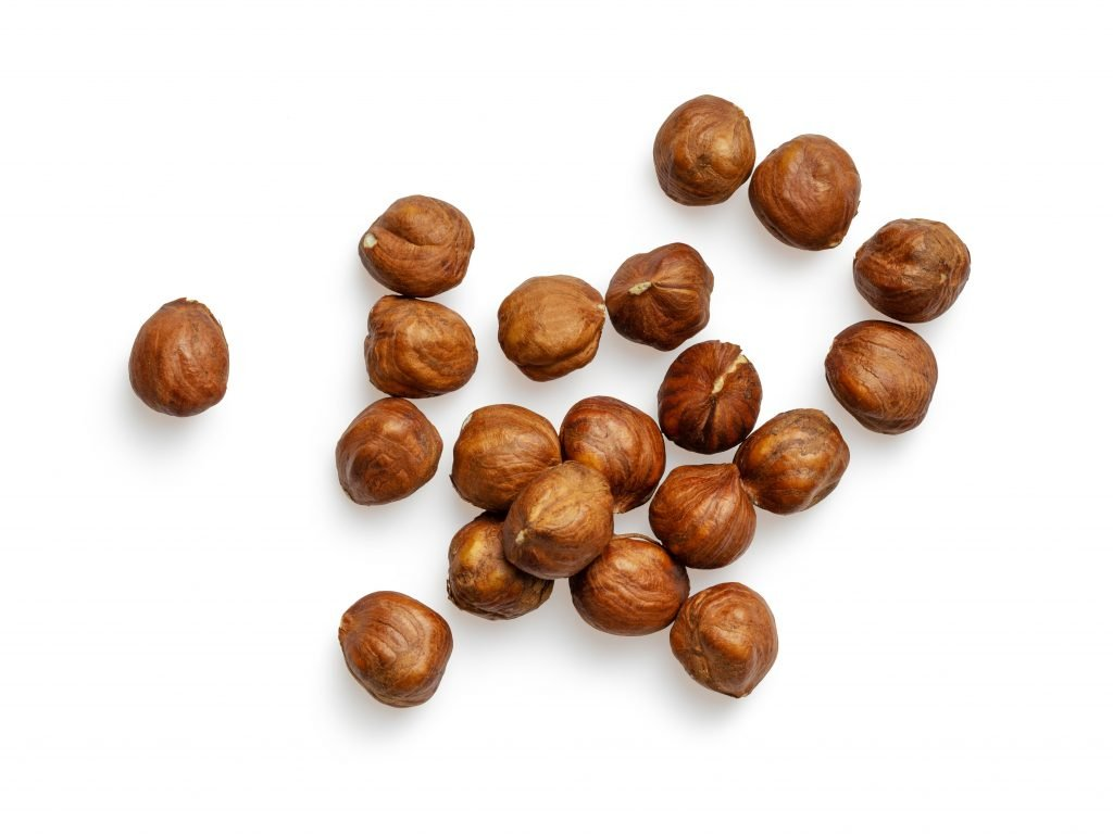 hazelnuts are high in mono unsaturated fatty acids