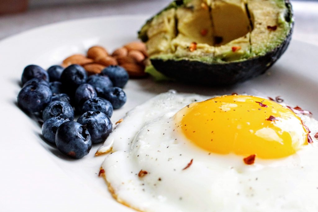 Avocado, berries, nuts, and eggs are allowed on keto