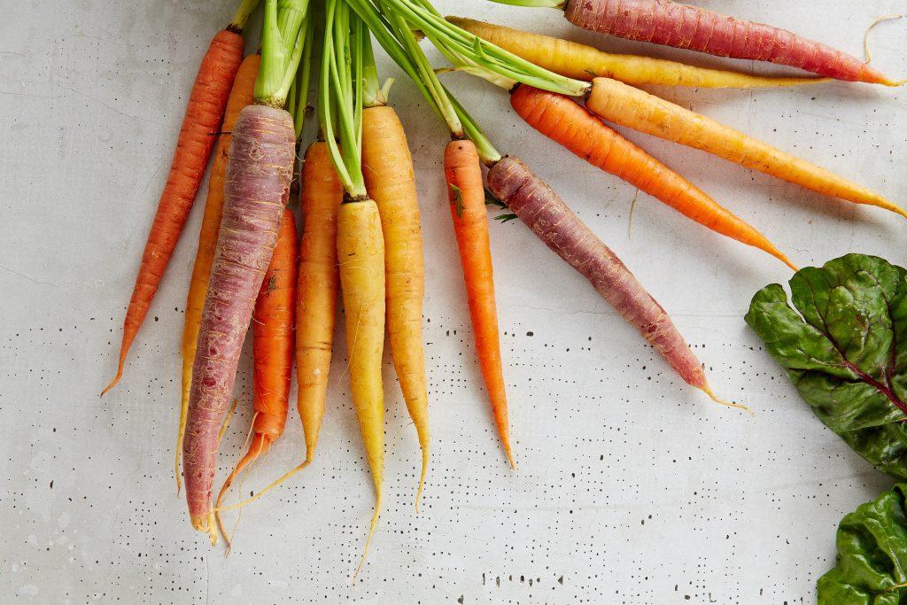 Aufgrund ihrer Kohlenhydrate sind Karotten nur in Maßen bei Keto erlaubt