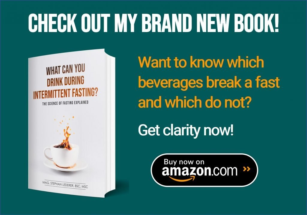 what to drink during intermittent fasting book on amazon