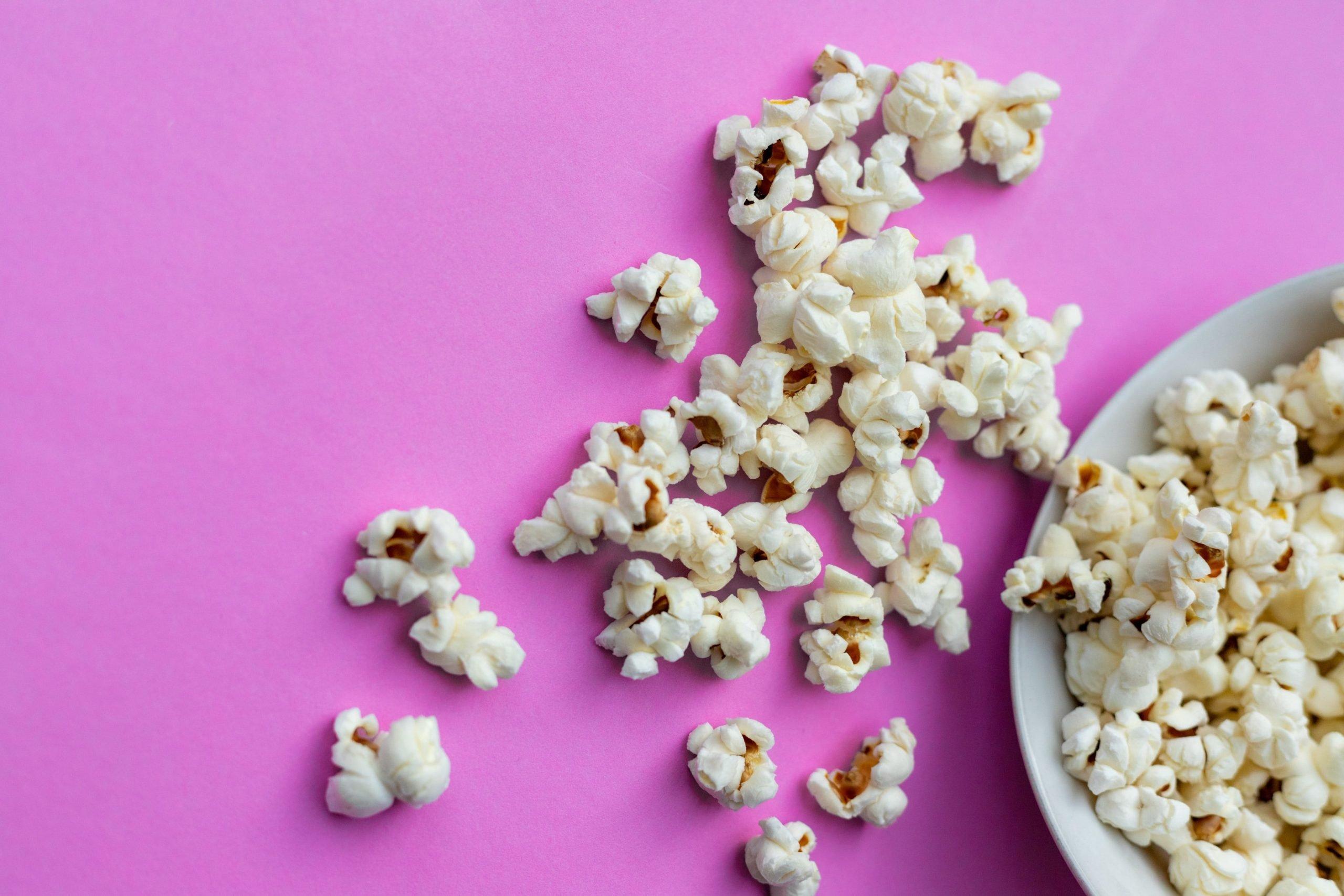 Popcorn eignet sich nicht für Low-Carb und Keto