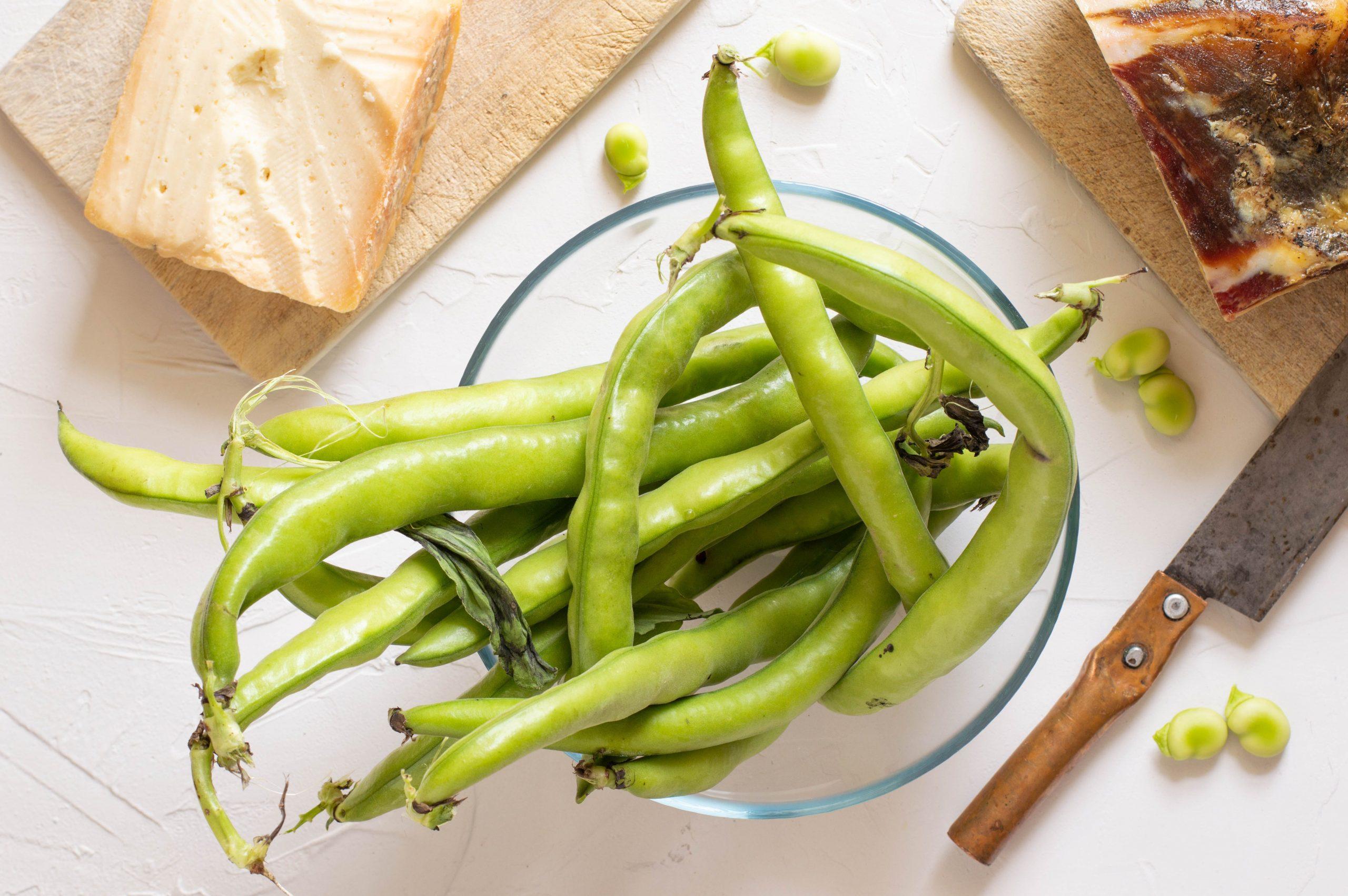 Grüne Bohnen eignen sich Low-Carb und Keto