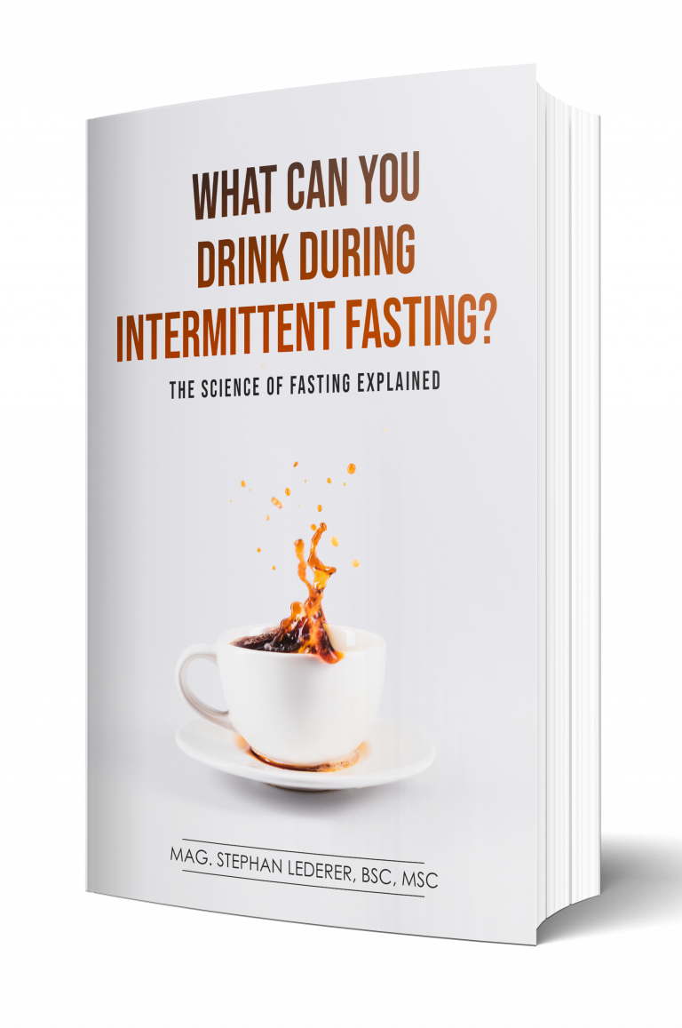 what can you drink during intermittent fasting book 3d cover