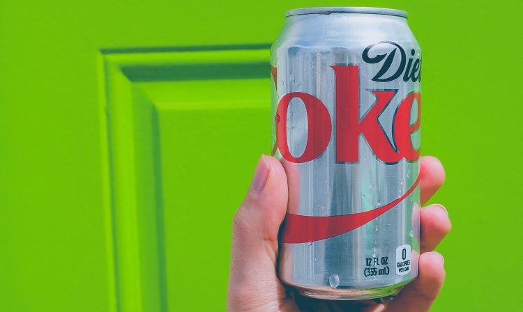 impact of diet coke on blood sugar levels.